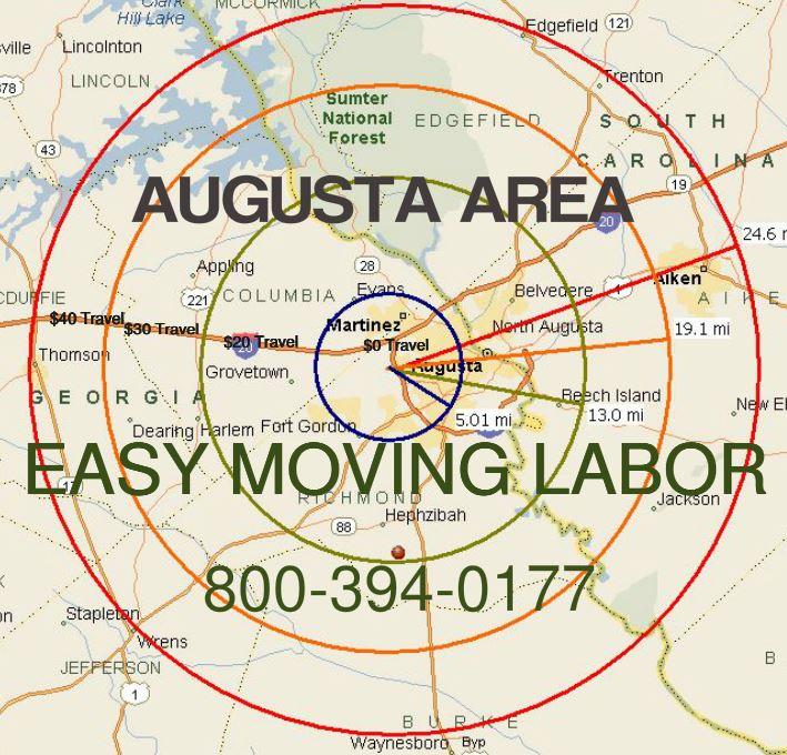 Augusta moving labor