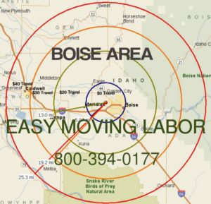 Boise moving labor loading and unloading