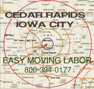 Cedar Rapids loading unloading moving labor