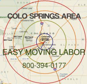 Colorado Spring moving labor