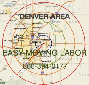 Denver moving labor to load and unload your rental truck.