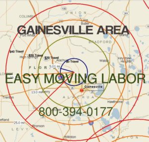 Gainesville moving labor