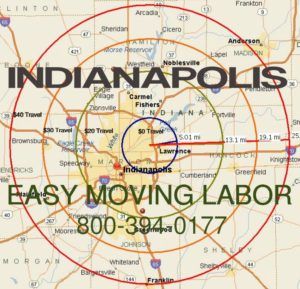 Indianapolisi moving labor for loading and unloading.