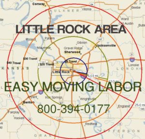 Little Rock moving labor