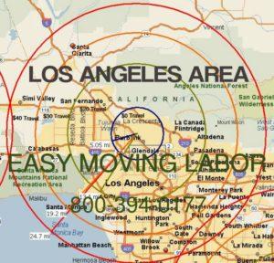 Los Angeles moving labor