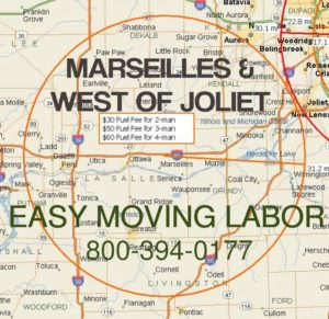 Marseilles moving labor for loading and unloading.