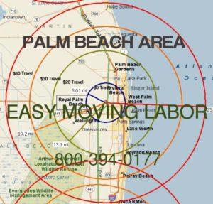 Palm Beach moving labor