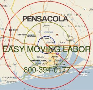 Pensacola moving labor