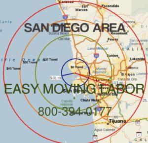 San Diego moving labor