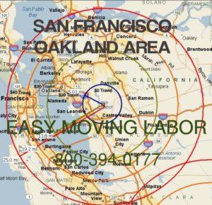 San Francisco moving labor