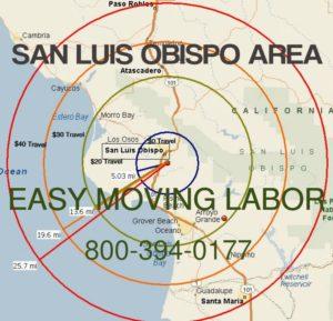 San Luis Obispo moving labor