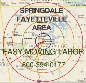 Springdale moving labor