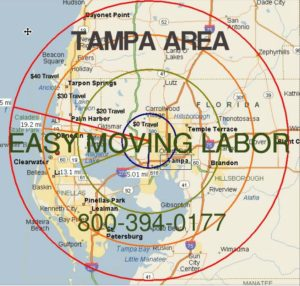 Tampa moving labor to unload your truck