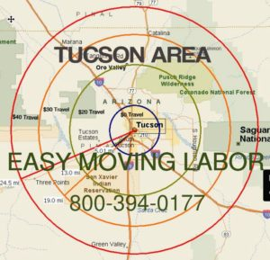 Tucson moving labor