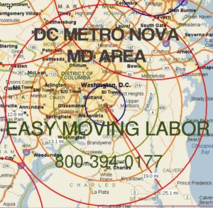 DC moving labor to load your truck.