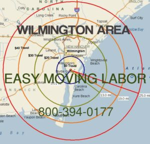 Wilmington nc moving labor help