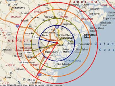 Pooler Ga Zip Code Map.Easy Moving Labor Map For Savannah Moving Labor