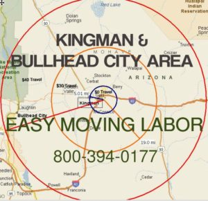 Hire pro Kingman moving labor to load and unload.