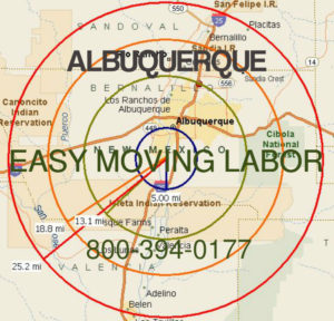 Albuerque pro moving labor