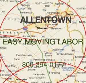 Get pro moving help in Allentown, Reading and Easton.