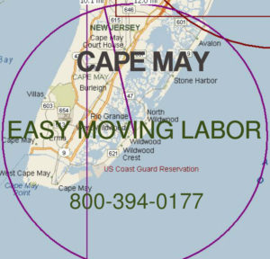 Hire pro moving help for Cape May