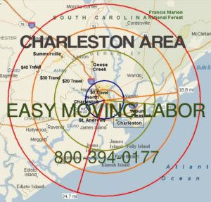 Hire local pro Charleston moving labor.