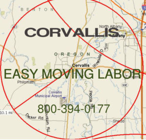 Hire pro Corvallis moving help.