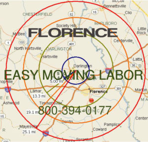 Hire local pro Florence movers.
