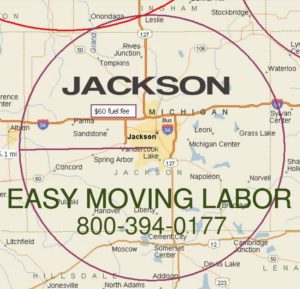 Local pro moving labor in Jackson MI.