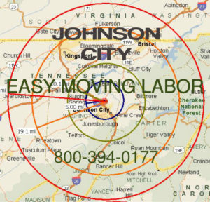 Hire local Johnson City moving help.