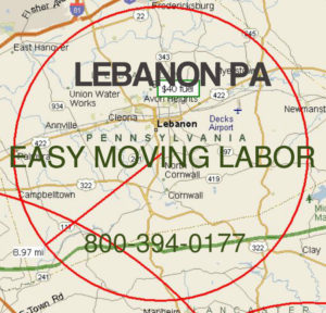 Hire pro moving help in Lebanon
