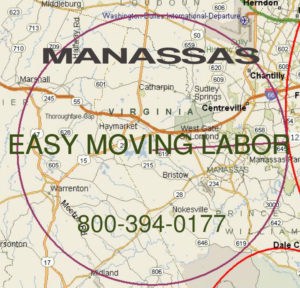 Get pro moving help in Manassas