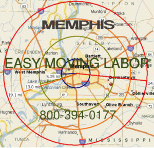 Hire local pro  Memphis moving help