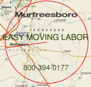 Hire pro Murfreesboro moving help