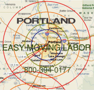Hire local pro Portland moving help.