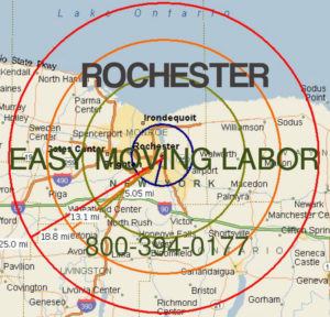 Hire local moving help in Rochester