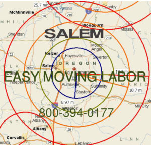 Hire pro local Salem moving help.