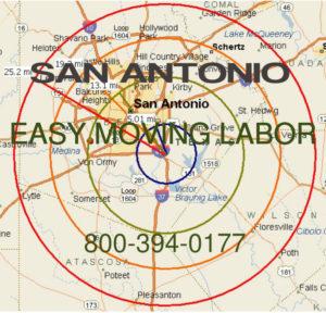 Hire local pro San Antonio moving help