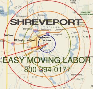 Local pro Shreveport moving labor