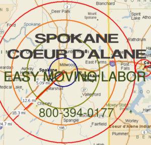 Hire local pro Spokane movers.