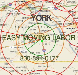 Hire local pro York moving help.