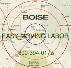 Hire pro Boise moving help to load and unload for your move.