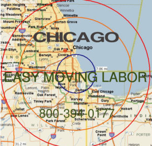 Hire pro Chicago moving help to load and unload for your move.