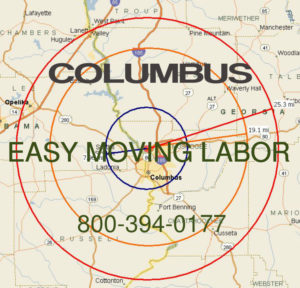 Hire pro Columbus moving help to load and unload for your move.