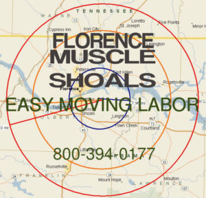 Get pro Florence and Muscle Shoals moving help.