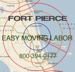 Hire pro Ft Pierce moving help to load and unload for your move.