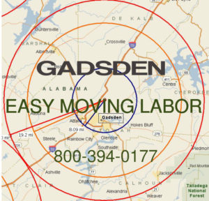 Hire pro Gadsden moving help.