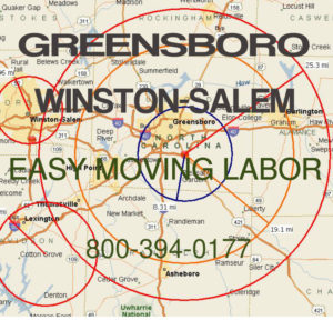 Hire local pro Greensboro moving help.
