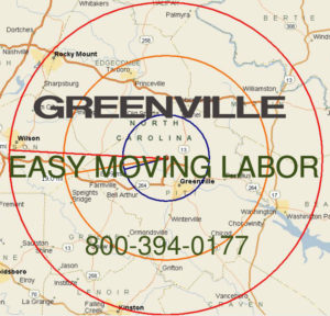 Get local Greenville moving help.
