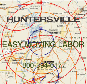 Hire local pro Huntersville moving help.